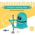 Chinês 2020 nova magia q desenho robô brinquedos educativos para crianças, estudantes aprendendo desenhar ferramentas robô quebra-cabeça brinquedos