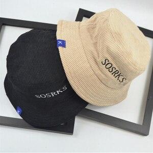 Gorra de algodón de terciopelo para mujer, gorra de estilo Bob, gorra de Hip Hop, deportes al aire libre, sombreros de pescador para playa y sol para mujer