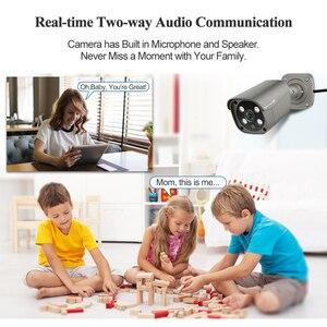 Image 3 - Techage 8CH 5MP HD POE NVR Kit système de sécurité CCTV deux voies Audio AI Face détecter caméra IP caméra de Surveillance vidéo extérieure ensemble de caméras