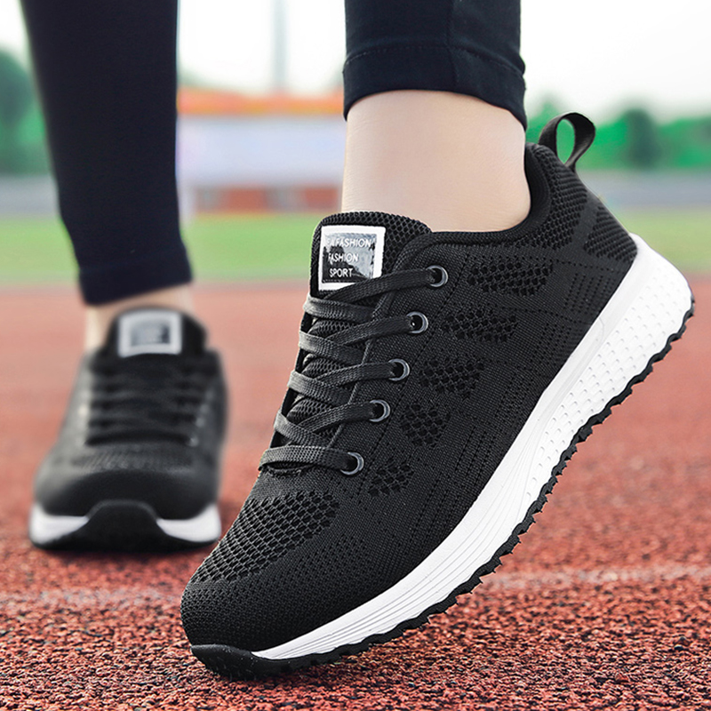 Shoes Woman Sneakers Spring Autumn Trainers Women Designer Shoes Basket Femme Women Fashion Mesh Tenis Feminino Casual Shoes