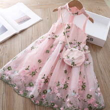 Детское кружевное платье-пачка, с рукавами-фонариками