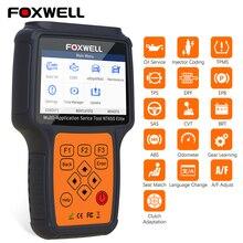 Foxwell NT650 エリートOBD2 eobd診断ツールマルチアプリケーションリセットサービス機能カーコードリーダーOBD2 自動車スキャナ