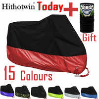 Motorcycle cover M L XL 2XL 3XL 4XL universal Outdoor Uv Protector for Scooter waterproof Bike Rain Dustproof cover 15 colors