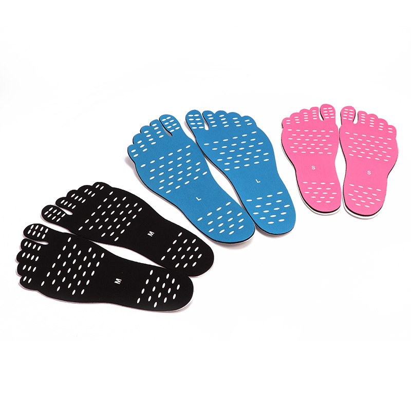 Beach Invisible Non-slip Foot Stickers Shoes Stick On Soles Sticky Pad Waterproof Hypoallergenic Adhesive Foot Care For Sandals