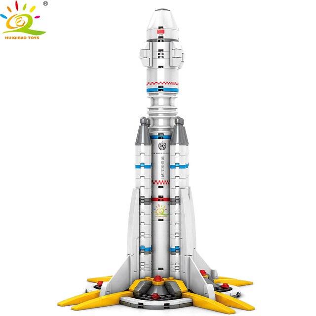 """Конструктор HUIQIBAO """"Шаттл-ракета"""", 332 шт."""