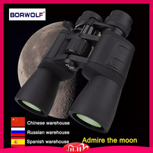 Borwolf 10 180X90 High Magnification HD Professionalซูมกล้องส่องทางไกลที่มีประสิทธิภาพLight Night VisionสำหรับHuntingTelescope Monocular