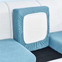 Sofá assento capa de almofada cadeira animais de estimação crianças móveis protetor polar velo estiramento lavável removível slipcover casa colorido vendido