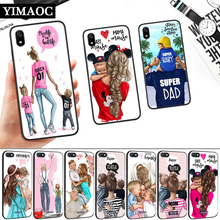 Super Mom Dad And Baby Silicone Soft Case for Redmi 4A 4X 5 Plus 5A 6 Pro 6A 7 7A S2 Go K20 Note Prime 8