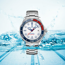 Pagani Ontwerp 2020 Nieuwe Heren Mechanische Horloges NH35A Automatische Horloge Mannen 100M Waterdicht Klok Man Gebogen Saffier Spiegel 007