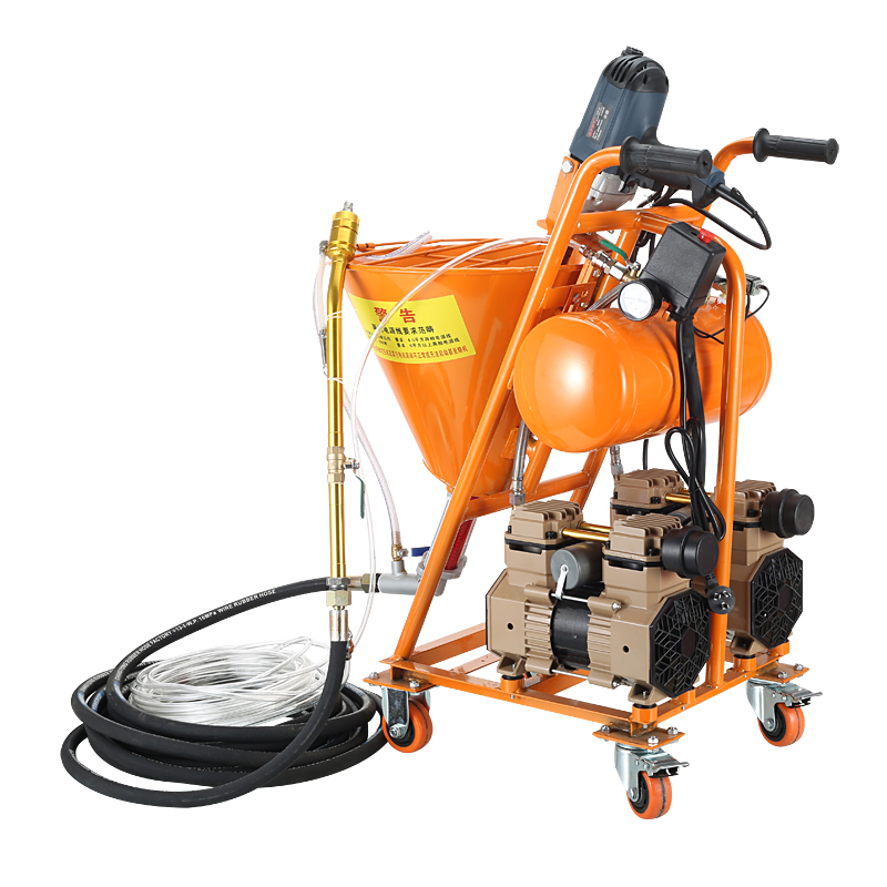 Putty High Pressure Spraying Machine Grouting Machine Grouter Cement Waterproof Mending Leakage Paint Plaster Putty Sprayer