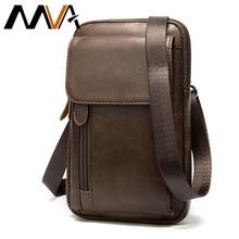 MVA prawdziwej skóry męska saszetka na ramię dla mężczyzn Crossbody torby mężczyzna torba mężczyźni skórzana torebka etui na telefony męskie małe 899