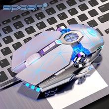 Travor profissão gaming mouse com fio mecânico led mouse 3200 dpi mouse óptico para todos os laptops de computador