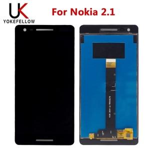 Image 1 - شاشة LCD لهاتف نوكيا 2.1 LCD 2018 TA 1080 1084 1092 1093 شاشة LCD مع مجموعة مستشعر باللمس LCD لعرض نوكيا 2.1