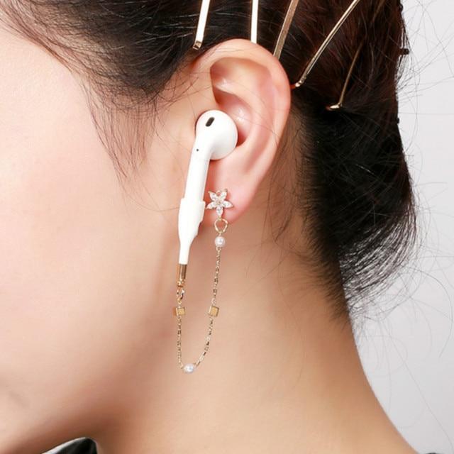 Supporto anti-smarrimento per auricolare cinturino per Apple iphone 1