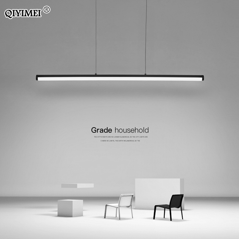 Modern Pendant Lights Minimalist LED Lighting Dimmable With Remote Control For Living Dining Room Cord Hanging Ceiling Lamps