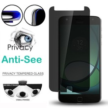 Закаленное стекло для Motorola G3 G4 G5 G6 Z2 P30 Play Защита экрана для Moto One power E5 G5 G5S G6 PLUS анти-шпионская пленка