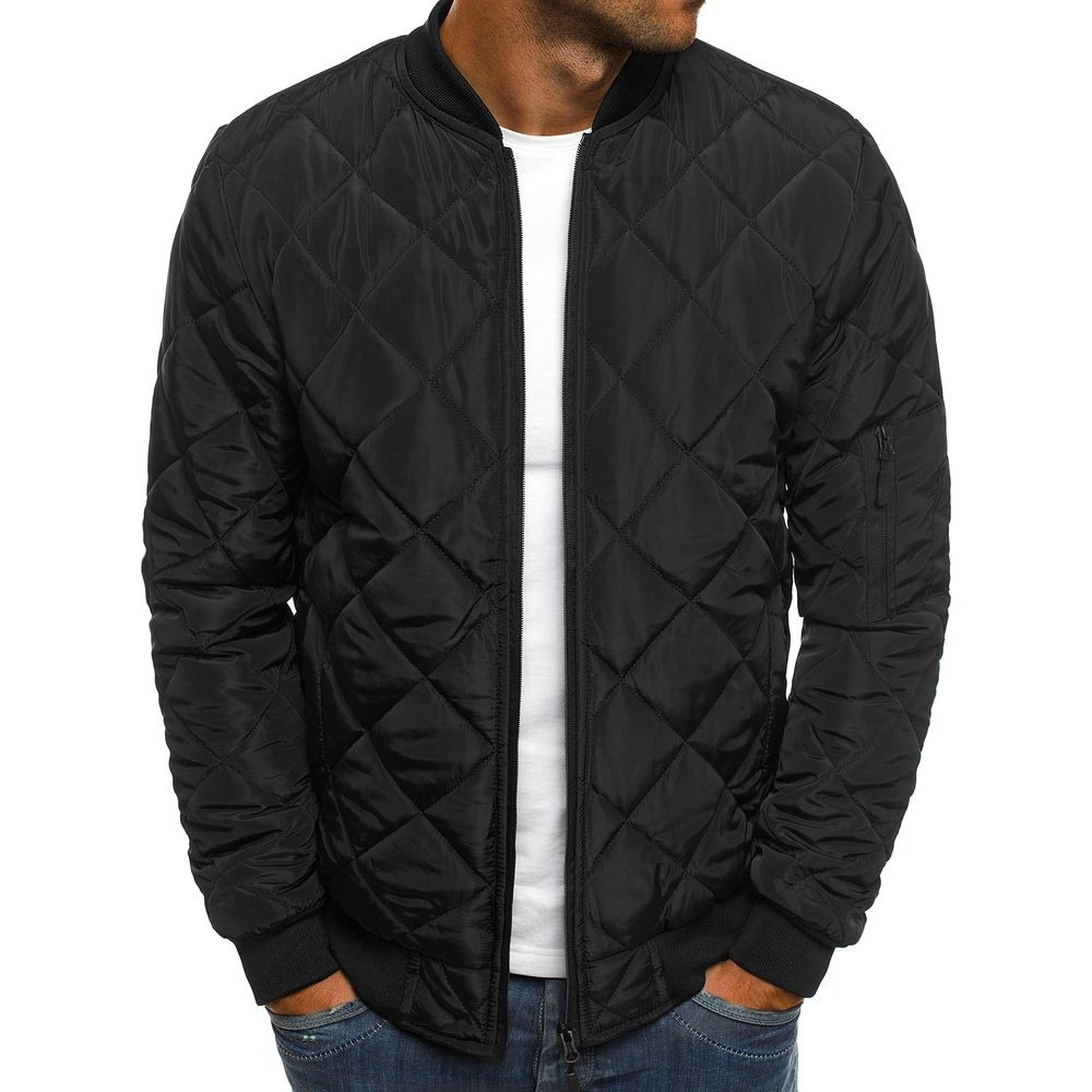 MRMT 2020 Brand Men's Cotton-padded Jackets Solid Color Men Jacket Rhombus Seam Cotton Man Jackets Coat Overcoat For Male