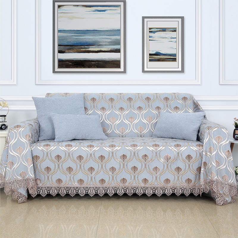 Luxury Embroidered sofa cover Couch covers for sofas loveseat cover  sofa cover covering the sofas chair slip cover 1