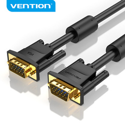 Vention VGA Cable VGA Male to Male Cable 15 Pin Braided Shielding VGA Cord 3m 5m 10m for HDTV PC Laptop Box Projector Cable VGA