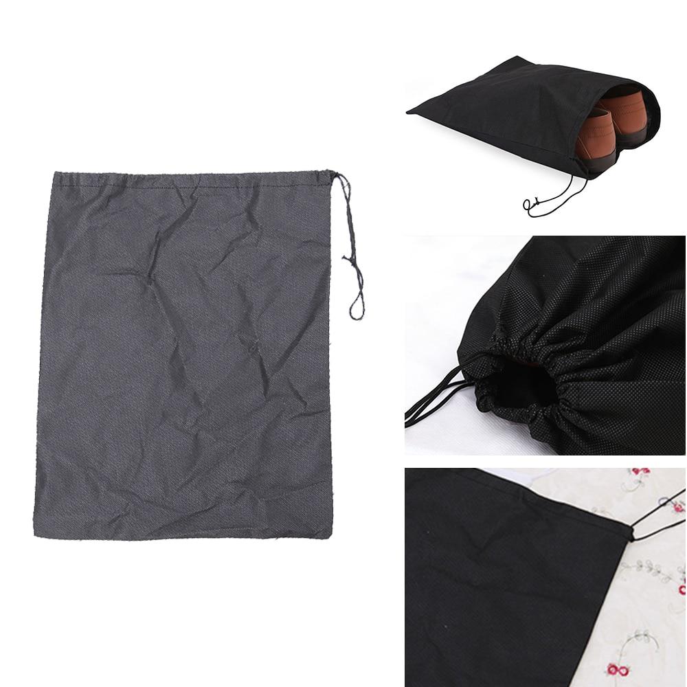 Портативный Водонепроницаемый посылка обувной Органайзер с карманами, который крепится на организовать мешок из нетканого полотна рисова...