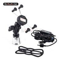GPS Navigation Bracket Phone Holder Camera VCR For DUCATI 899/959/1199/1299 PANIGALE V4 1100 USB Charger Mount Stand Support