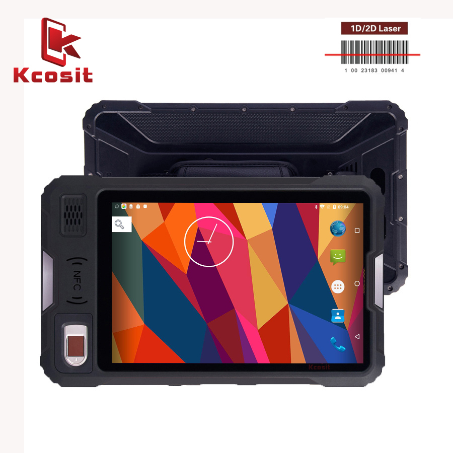 2019 China Kcosit P9000 Rugged Best Android Tablet PC 8 Inch Shockproof Waterproof Kids 4G LTE Mobile Terminal  Long Standby