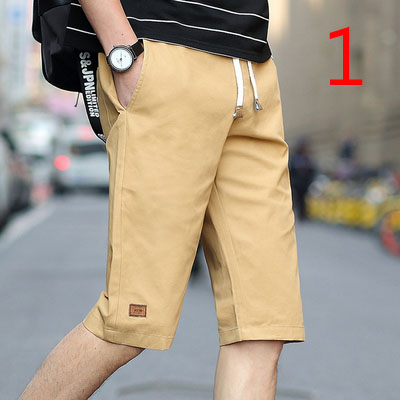 Shorts Men Loose Casual Trend Cropped Trousers Summer Thin Section Sports Pants Men's Cotton Pants