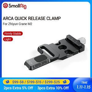 Image 1 - SmallRig Arca Quick Release Clamp für Zhiyun Kran M2 Gimbal Stabilisator Arca swiss Klemme Zu Montieren Auf Gimbals/arca Stative 2508