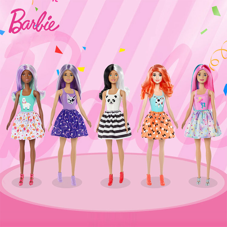Light Tube Changing Barbie Doll  Surprise Color Blind Box Dolls For Girls Changing Kids Toys For Girl Princess Toy For Children