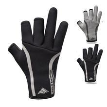 Неопреновые перчатки с тремя пальцами для рыбалки зимние без