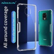 Dla Xiaomi Mi uwaga 10 Lite Mi 9T Poco X3 NFC X2 F2 Pro sprawa Nillkin 0.6mm cienki Tpu sprawa na Redmi uwaga 9s 9 Pro Max 8 8T K30 K20