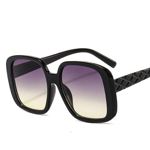 Фото градиентные солнцезащитные очки для женщин новинка 2020 роскошные