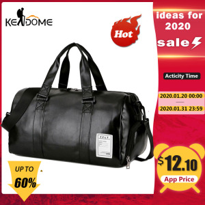 Gym Bag Leather Sports Bags Big Men Trai