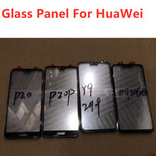 10pcs/lot Touch Screen Outer Glass for Huawei Mate 20 Lite Y9 2019 P20 20 Pro Touch Panel Glass Lens Digitizer fine quality