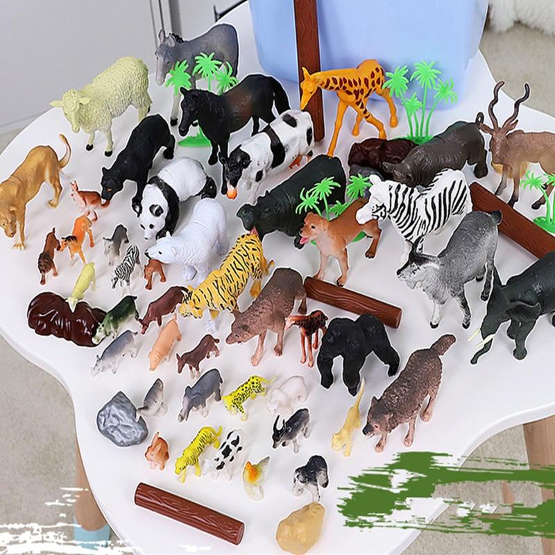 Enfants faune simulation modèle jouet animal costume garçon jouet biologie - 4