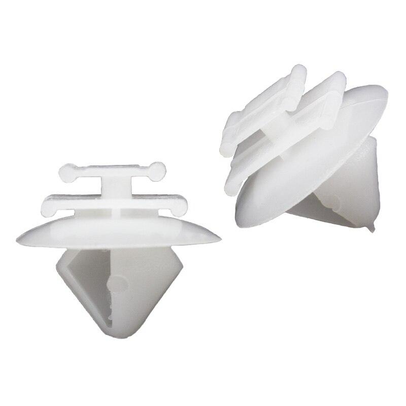 500x пластиковые анти-втирание двери втирания полосы сарай защелки белая отделка полосы фиксатор для peugeot 206 207 408 аксессуары