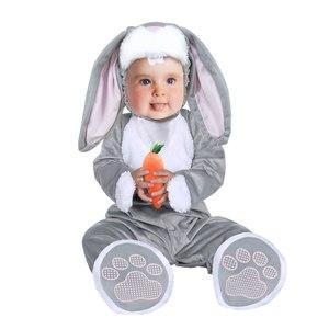 Image 2 - Umorden ליל כל הקדושים תחפושות לפעוטות תינוקות תינוק נמר חיות האריה פנדה באני ינשוף פינגווין תלבושות קוספליי עבור תינוק ילדה ילד