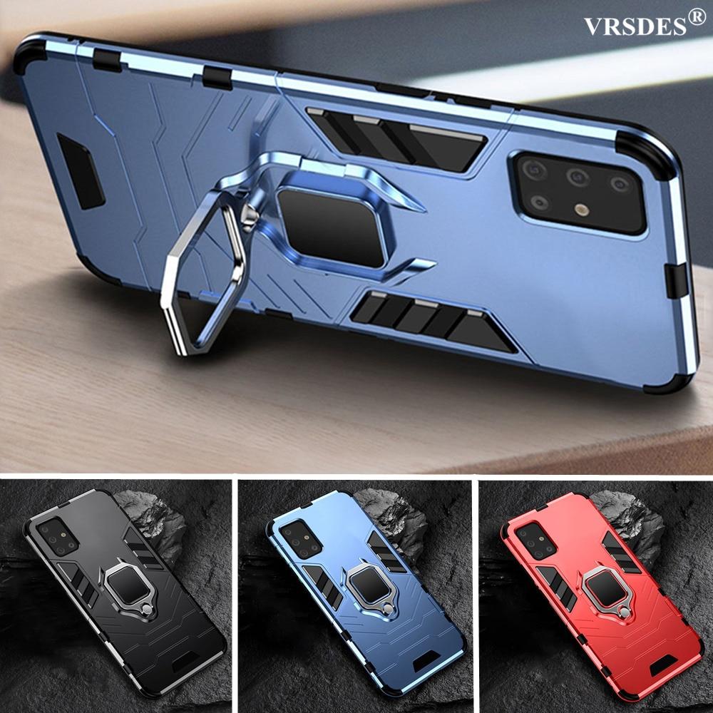 Stoßfest Rüstung Ring Fall Für Samsung Galaxy A51 A71 A31 A11 M80s M60s M40s M30s M40 M30 M20 M10 M31 m21 M11 EINE 51 EINE 71 Funda