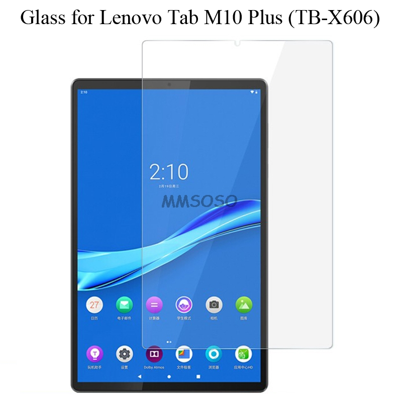 For Lenovo Tab M10 Plus FHD Tempered Glass Screen Protector 9h Safety Protective Film On M 10 Plus TB-X606F TB X606F