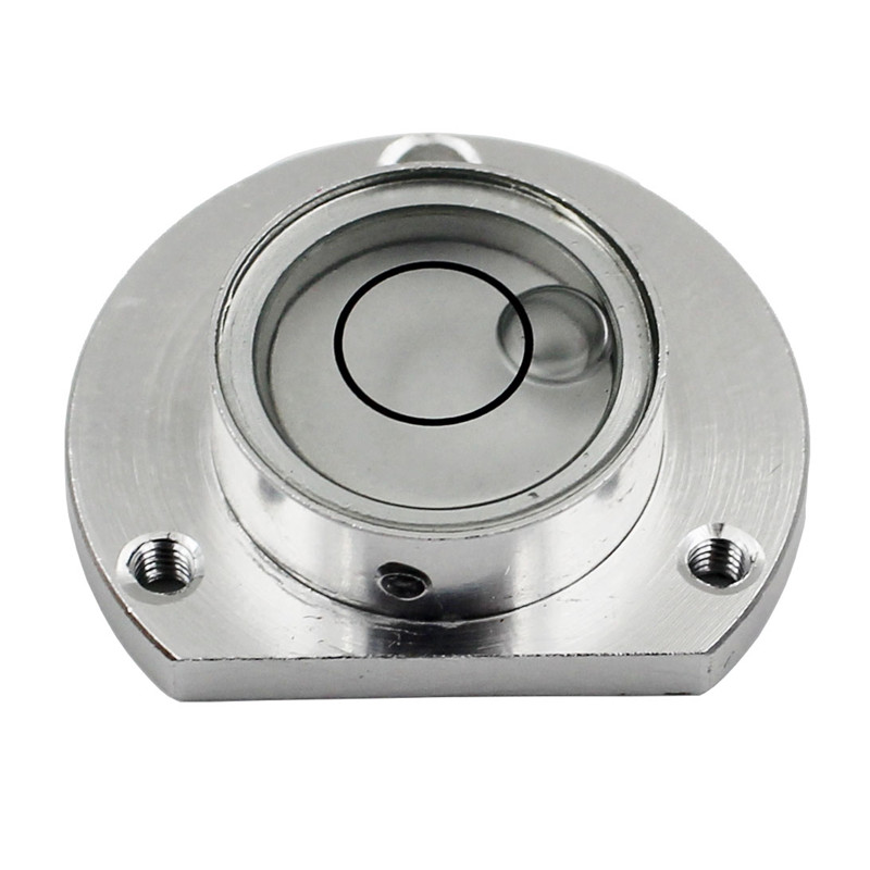 Size 28*8.5mm Aluminum shell Total Station blisters Round bubble level for Leica NA20 NA700 NA728 level measurement instrument