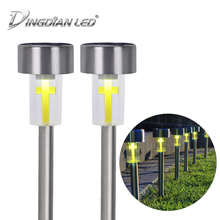 цена на Lawn Lights Lanscape Garden Solar Panel Battery Powered Light Lawn LED DC 0.05W LED Solar Lawn Light Outdoor Solar Path Lot Lamp