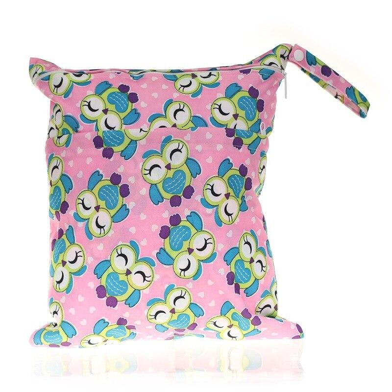 30*36 Cm Baby Supplies Diaper Bag Baby Car Waterproof Hanging Bag