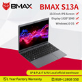 Новейший ноутбук BMAX S13A 13,3 дюйма Celeron N3350 1920x1080 IPS 8 ГБ ОЗУ 128 Гб ПЗУ ноутбуки Windows 10 компьютер 13p