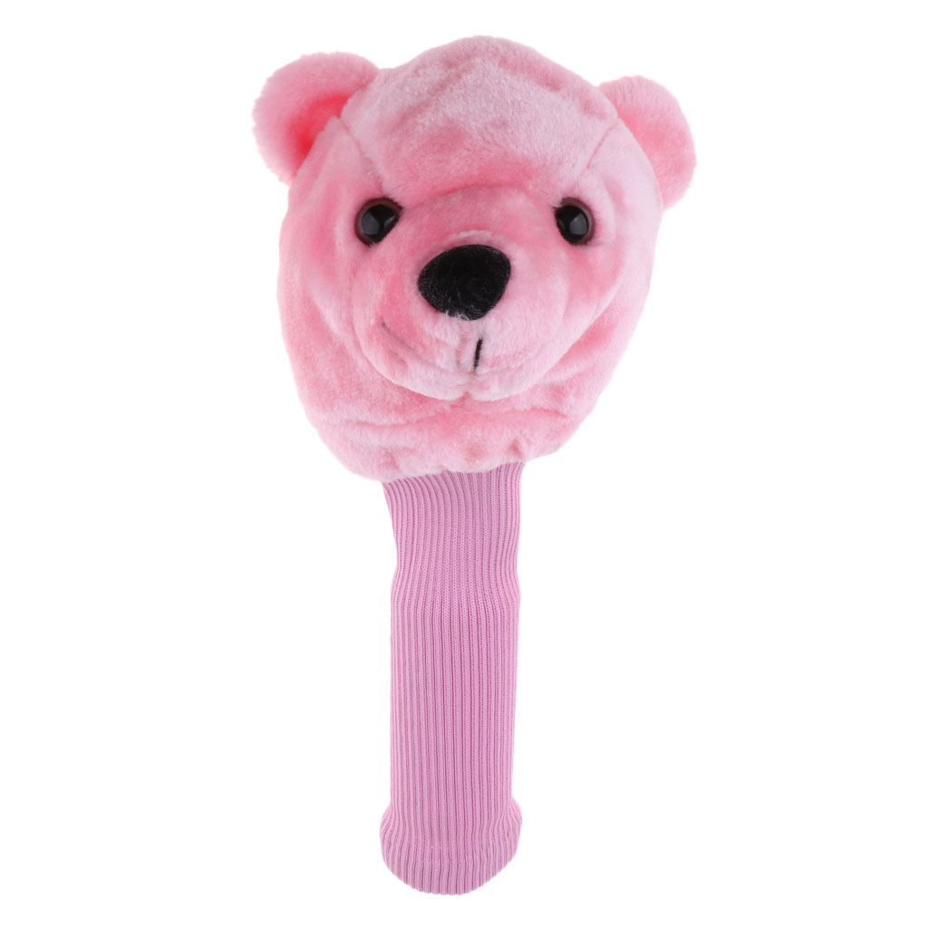 Bear Golf Sports Club Covers Head Cover For Fairway No.3 5 Wood Headcovers -FULL PROTECTION
