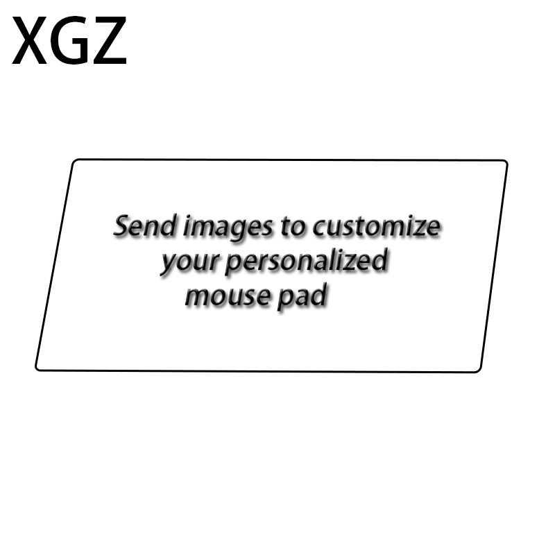 XGZ Anime Large Size Mouse Pad Personality Picture Custom PC Table Table Mat Rubber Diy Own Carpet Mat Game Player Dedicated