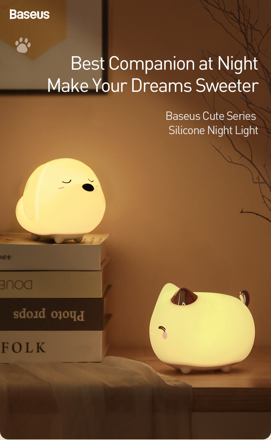 Baseus Cute LED Night Light 5