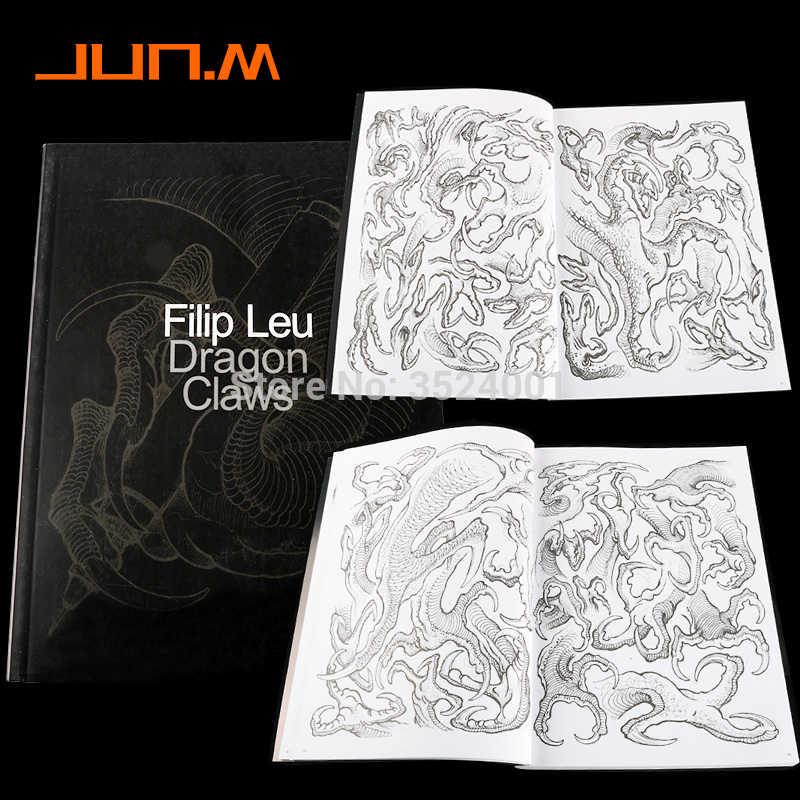 Newest Dragon Claws Tattoo Designs By Filip Leu Tattoo Book Body Art Design Pattern Template Free Shipping B5 Aliexpress