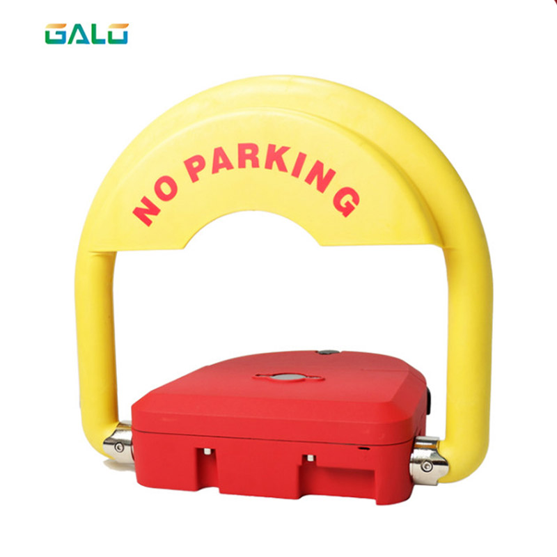 Rustproof And Durable Battery Operated Smart Parking Lock Grey & Red Appearance Optional