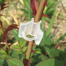 50PCS Home Plastic Grafting Clips Garden Flower Vine Bushes Plants Tool Supplies
