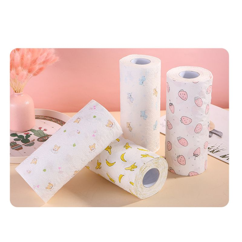 1 Rolls Toilet Paper No Fluorescent Agent Soft Stronge 3-Ply Sheets Bath Tissue 50JF